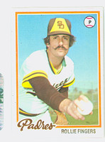 1978 Topps Baseball 140 Rollie Fingers San Diego Padres Near-Mint