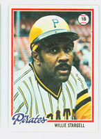1978 Topps Baseball 510 Willie Stargell Pittsburgh Pirates Near-Mint
