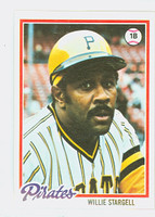 1978 Topps Baseball 510 Willie Stargell Pittsburgh Pirates Near-Mint Plus