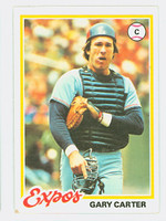 1978 Topps Baseball 120 Gary Carter Montreal Expos Very Good to Excellent