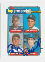 Turk Wendell DUAL SIGNED 1992 Topps Cubs 