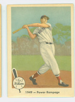 1959 Fleer Ted Williams 38 Power Rampage Excellent