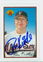 Ron Kittle AUTOGRAPH 1989 Bowman White Sox 