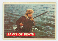 1956 Davy Crockett Green 27 Jaws of Death Good to Very Good