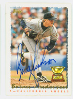 Brian Anderson AUTOGRAPH 1995 Topps Angels 