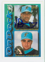 Vic Darensbourg AUTOGRAPH 1995 Topps On Deck Marlins 
