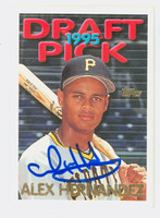 Alex Hernandez AUTOGRAPH 1995 Topps Traded Draft Pick Pirates 