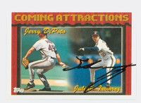 Julian Tavarez AUTOGRAPH 1994 Topps Coming Attractions Indians 