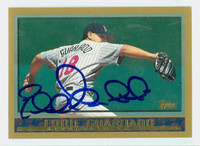 Eddie Guardado AUTOGRAPH 1998 Topps Twins 