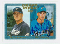Mark Kotsay AUTOGRAPH 1997 Topps Draft Picks Marlins 