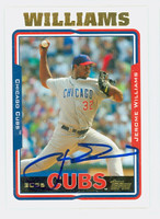 Jerome Williams AUTOGRAPH 2005 Topps Update Cubs   [SKU:WillJ13847_T05BBUPLG]