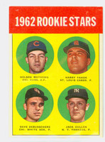 1963 Topps Baseball 54 Rookie Stars 1962  Very Good