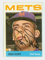 Ron Hunt AUTOGRAPH 1964 Topps #235 Mets 