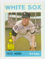 Pete Ward AUTOGRAPH 1964 Topps #85 White Sox 