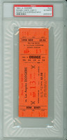 1964 Los Angeles Dodgers FULL TICKET vs New York Mets Don Drysdale Win #141 Frank Howard HR #122  - September 13, 1964 PSA/DNA Authentic Slabbed