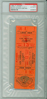 1966 Los Angeles Dodgers FULL TICKET vs Houston Astros Don Sutton ND - June 13, 1966 PSA/DNA Authentic Slabbed
