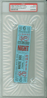 1966 Chicago White Sox FULL TICKET vs Detroit Tigers Mickey Lolich Win #47 - July 26, 1966 PSA/DNA Authentic Slabbed