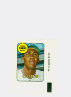 1969 Topps Decals 20 Ferguson Jenkins Chicago Cubs Excellent to Mint