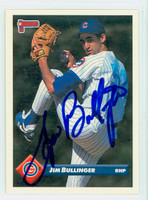 Jim Bullinger AUTOGRAPH 1993 Donruss Cubs 