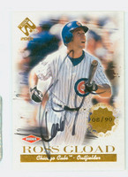 Ross Gload AUTOGRAPH 2000 Pacific Cubs 