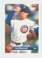 Jeff Hartsock AUTOGRAPH 1993 Donruss Cubs 