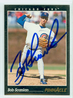 Bob Scanlan AUTOGRAPH 1993 Pinnacle Cubs 