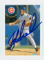 Bob Scanlan AUTOGRAPH 1994 Fleer Cubs 