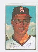Chris Knapp AUTOGRAPH 1978 SSPG All Star Gallery Angels 