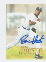 Brian Hunter AUTOGRAPH 1997 Fleer Tigers 