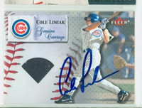 Cole Liniak AUTOGRAPH 2000 Fleer Genuine Coverage Cubs 
