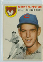 1954 Topps Baseball 31 Johnny Klippstein Chicago Cubs Fair to Good