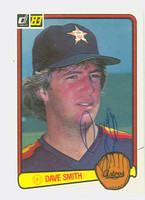 Dave Smith AUTOGRAPH d.08 1983 Donruss #370 Astros 