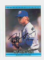 Pat Hentgen AUTOGRAPH 1992 Donruss Blue Jays 