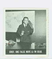 1966 Get Smart 12 Chief, One False Move and I'm Dead Single Print Fair to Good