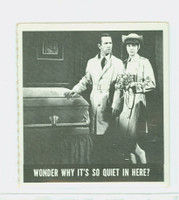 1966 Get Smart 57 Wonder Why It's So Quiet In Here Single Print Very Good