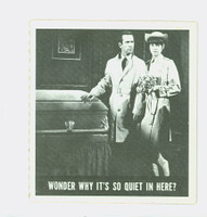 1966 Get Smart 57 Wonder Why It's So Quiet In Here Single Print Excellent