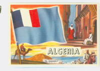 1956 Flags of the World 51 Algeria Excellent to Mint