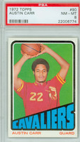 1972 Topps Basketball 90 Austin Carr ROOKIE