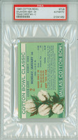 1945 Cotton Bowl Ticket Stub - Oklahoma State Aggies vs TCU Horned Frogs  - January 1, 1945 PSA/DNA Authentic