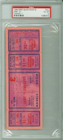 1948 Army Black knights Full Ticket vs Harvard  - October 16, 1948 Excellent to Mint