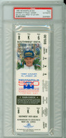 1993 Indianapolis 500 FULL Ticket - Emerson Fittipaldi May 30, 1993 PSA/DNA Authentic
