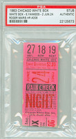 1963 Chicago White Sox Ticket Stub vs New York Yankees Roger Maris HR #206 - June 24, 1963 PSA/DNA Authentic
