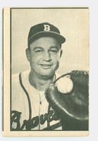 1953 Bowman Black Baseball 30 Walker Cooper St. Louis Cardinals Fair to Good
