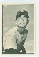 1953 Bowman Black Baseball 59 Duane Pillette St. Louis Browns Fair to Good