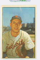 1953 Bowman Color Baseball 6 Joe Ginsberg St. Louis Browns Poor