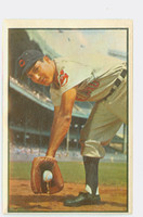 1953 Bowman Color Baseball 29 Bobby Avila Cleveland Indians Poor