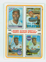 1974 Topps Baseball 5 Hank Aaron 1966-1969 Near-Mint