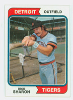 1974 Topps Baseball 48 Dick Sharon Detroit Tigers Near-Mint to Mint