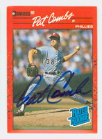 Pat Combs AUTOGRAPH 1990 Donruss Phillies 