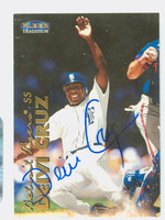 Deivi Cruz AUTOGRAPH 1999 Fleer Tradition Tigers 
